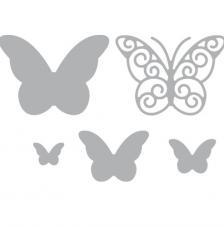 Troquel papallones capritxoses