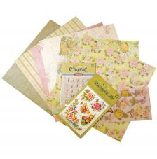Kit scrapbooking Rosas