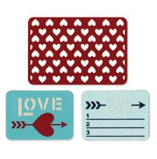 Sizzix Thinlits Die Set- Love