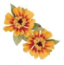 Sizzix Thinlits Die Set - Flor Zinnia