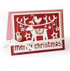 Sizzix Thinlits Die- Feliz Navidad