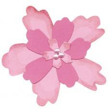 Troquel Sizzix Bigz. Capas de flores 4