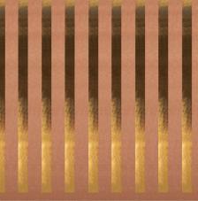 Paper Kraft 30,5x30,5cm. Rayas oro