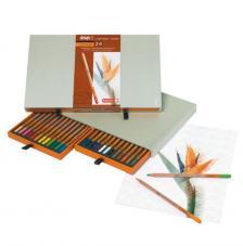 Caja madera 24 lápices de colores Bruynzeel