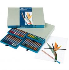 Caja madera 48 lápices acuarela Bruynzeel