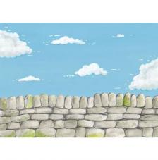 Country Wall. Lamina A4