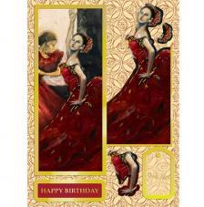 Flamenco. Figuras pre-cortadas A4
