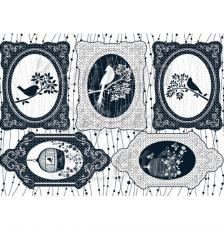 Gilded Cage. Figuras pre-cortadas A4