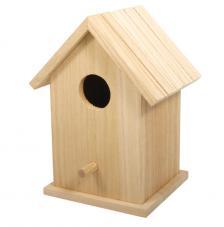 Casita de pájaros 12,5x10x17 cm