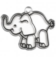 Base acrilica elefante 8x6 cm