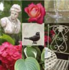 20 servilletas. Jardín romántico