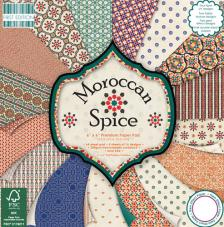 64 papeles 15,2 x 15,2 cm. Morrocan Spice
