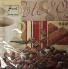 20 servilletas. Café