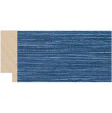 Moldura rústica azul 4x1,3 cm. Ref.5504/30