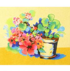 Spring flowers. 38x46 cm