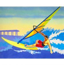 Windsurf. 50x61 cm