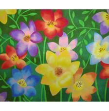 Flores. 38x46 cm