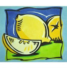 Limones. 38x46 cm