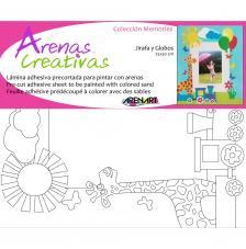 Memory Jirafa y Tren. 25x30 cm