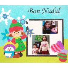Memory Bon Nadal 1. 30x25 cm.