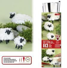Kit quilling ovejitas 3D