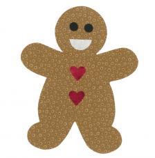 Troquel Sizzix Bigz L. Gingerbread Man