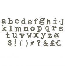 Sizzix Bigz XL Alphabet-Typo Lower