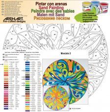 Mandala 2. 38x38 cm
