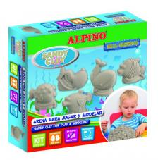 Sandy Clay Alpino Animales marinos
