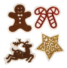 Deco stickers Simbolos Navidad