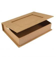 Caja libro cartón 22,8x16x5cm