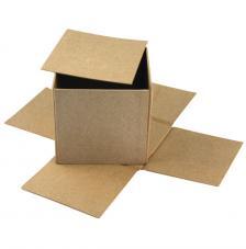 Caja montable cartón 12x12x11 cm