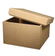 Caja cuadrada de DM 2 medidas