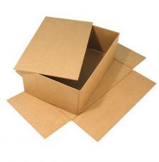 Caja montable cartón 19,5x33x11 cm