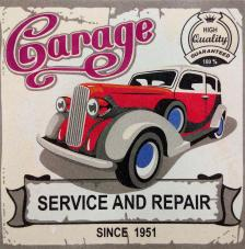 Garage Since 1951. 2 medidas disponibles