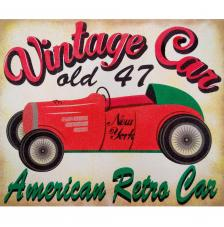 Vintage Car Old 47. 2 medidas disponibles