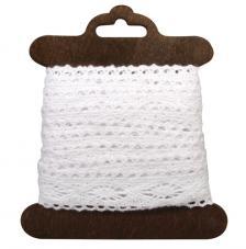 Cinta algodon blanco Cassandra 2,3cmx2,5m
