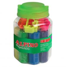 Kit plastilina 8 colores 80 gr.