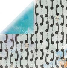 Papel doble cara 30,5 x 30,5 cm. Eclectic