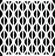 Stencil 30x30 - Wellen