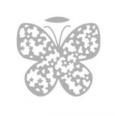 Troquel Mariposa Floral 6,9x6,1 cm