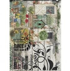 Papel Arroz Garden Patch 30x41 cm
