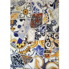 Papel Arroz Azulejos Rotos 30x41 cm