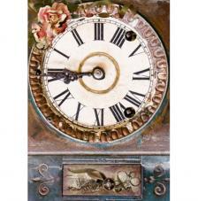 Papel Arroz Esfera Reloj Grande 30x41 cm