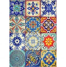 Papel Arroz Azulejos 30x41 cm