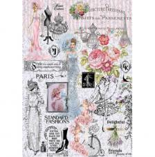 Papel Arroz Paris Fashions 30x41 cm