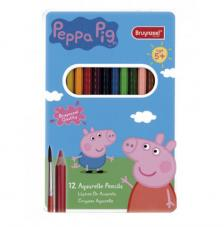 Set 12 Lápices acuarelables Peppa Pig