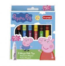 Set 8 rotuladores mágicos Peppa Pig