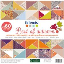 180 papeles 30,5 x 30,5 cm. Best of Autumn