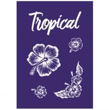Stencil My Style Tropical 14,8x21 cm